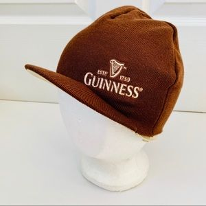 🎁 Guiness Beer • Adult One Size Brown Bonnet Cap